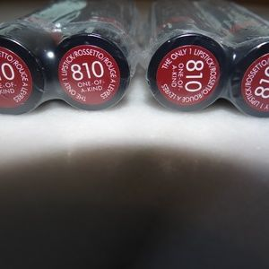 Rimmel Lipstick 810 One-Of-A-Kind Lot of 4